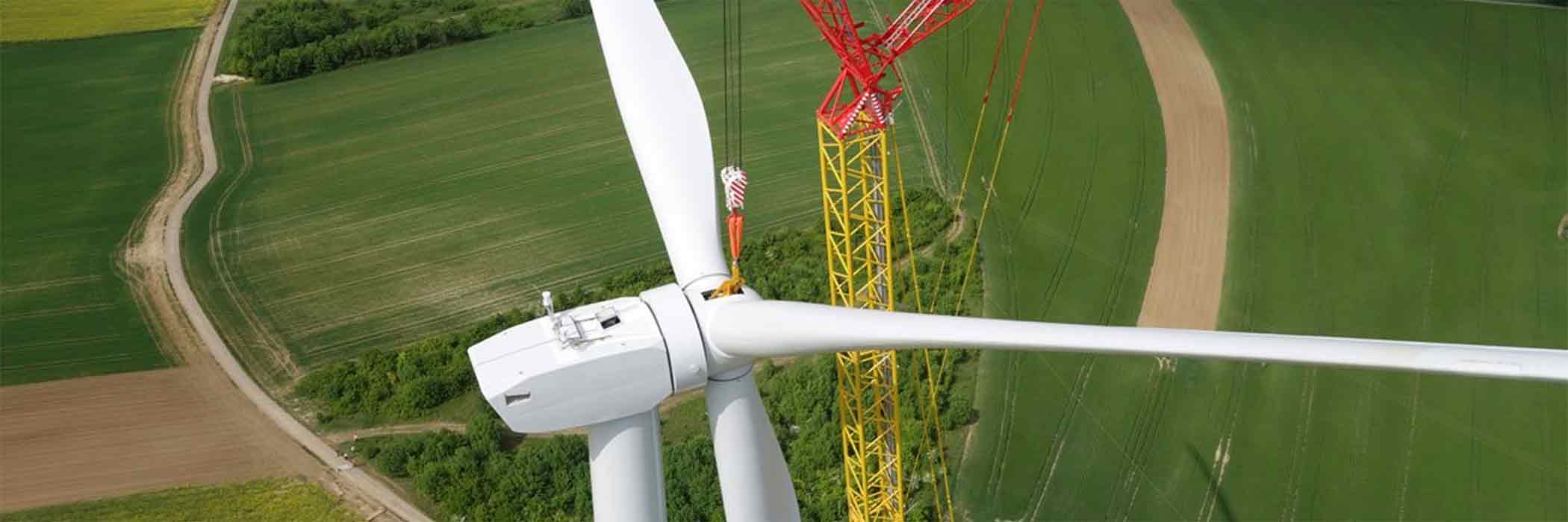 Using sUAS to inspect windmill construction