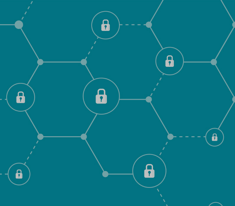 Connectivity of secure and non-secure points