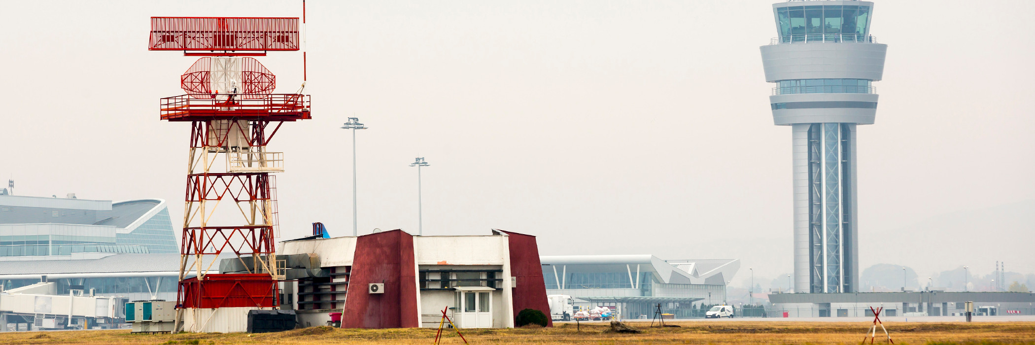Air traffic control towers