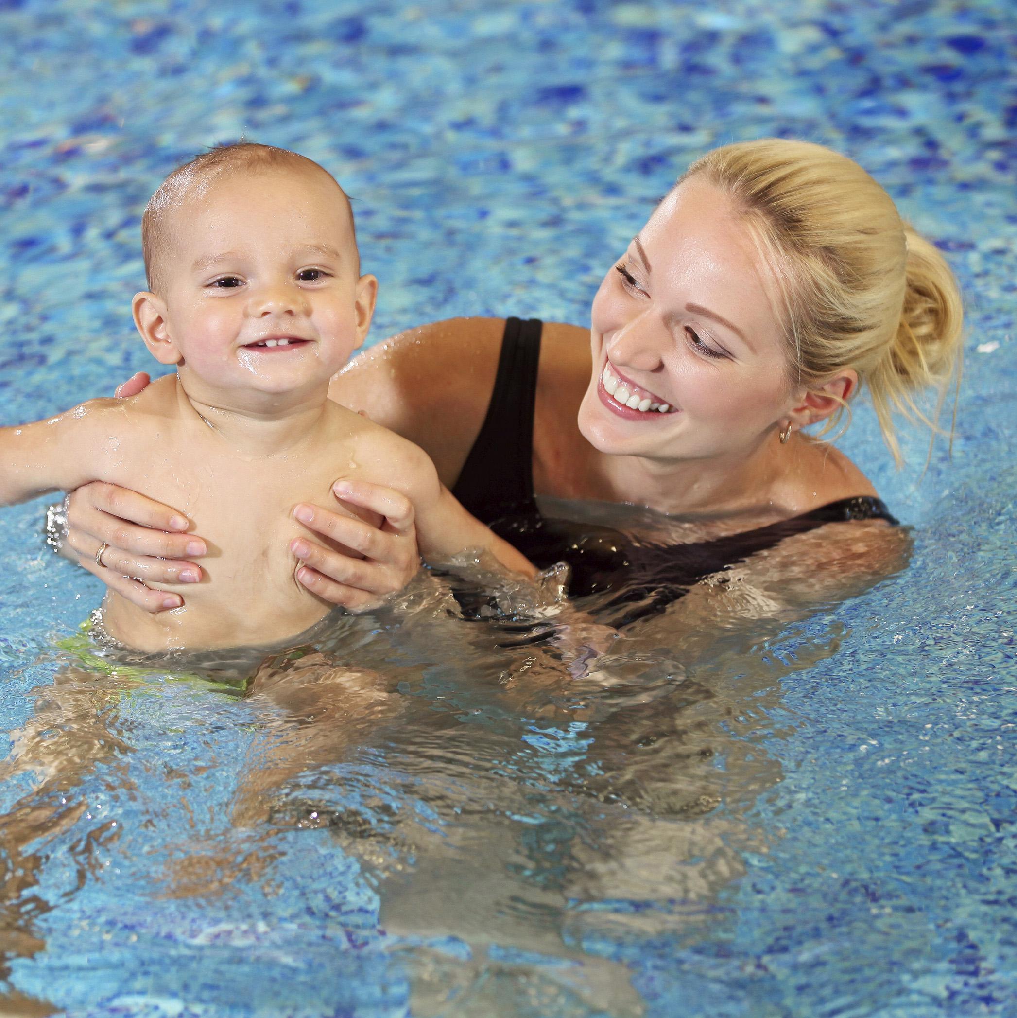 Parent/Child 1 Swim Lessons | age 6-24 months w/parent