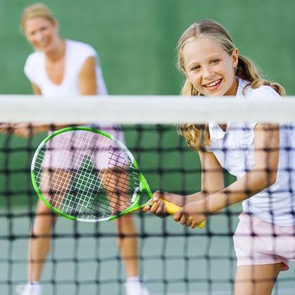 We Love Tennis - Parent/Child   age 8-18 w/parent