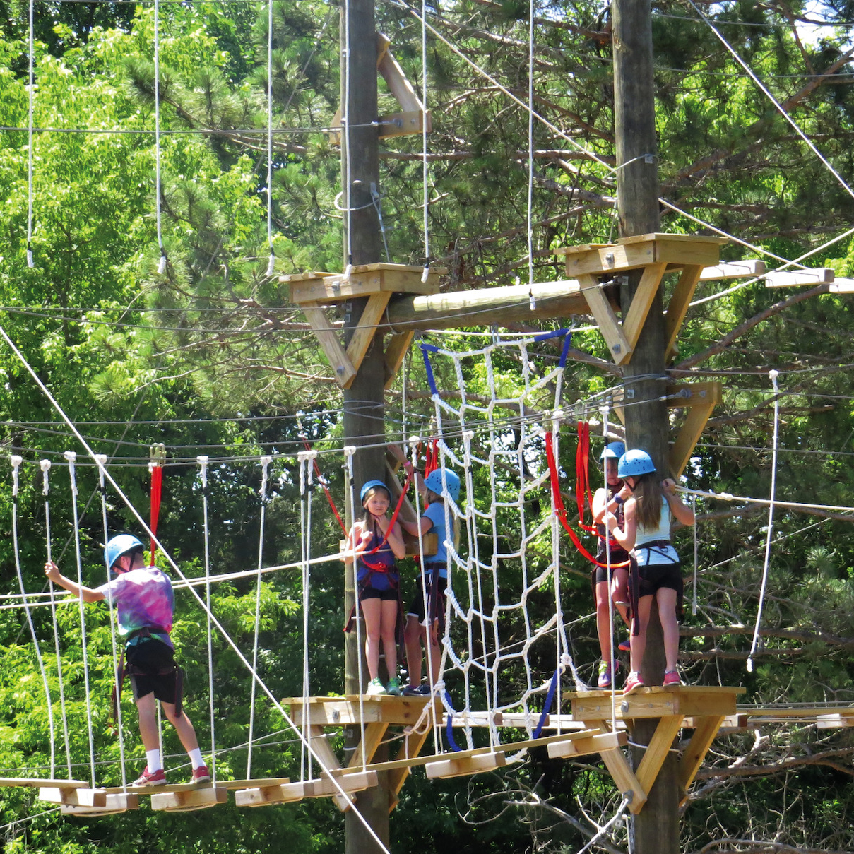 Camp Manitou Teen Adventure Sampler | grades 7-9