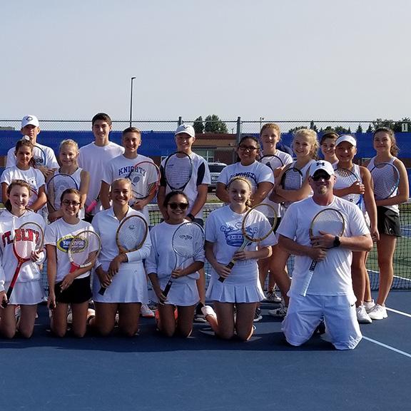 Tour - High School Tennis Camp   entering grades 7-12