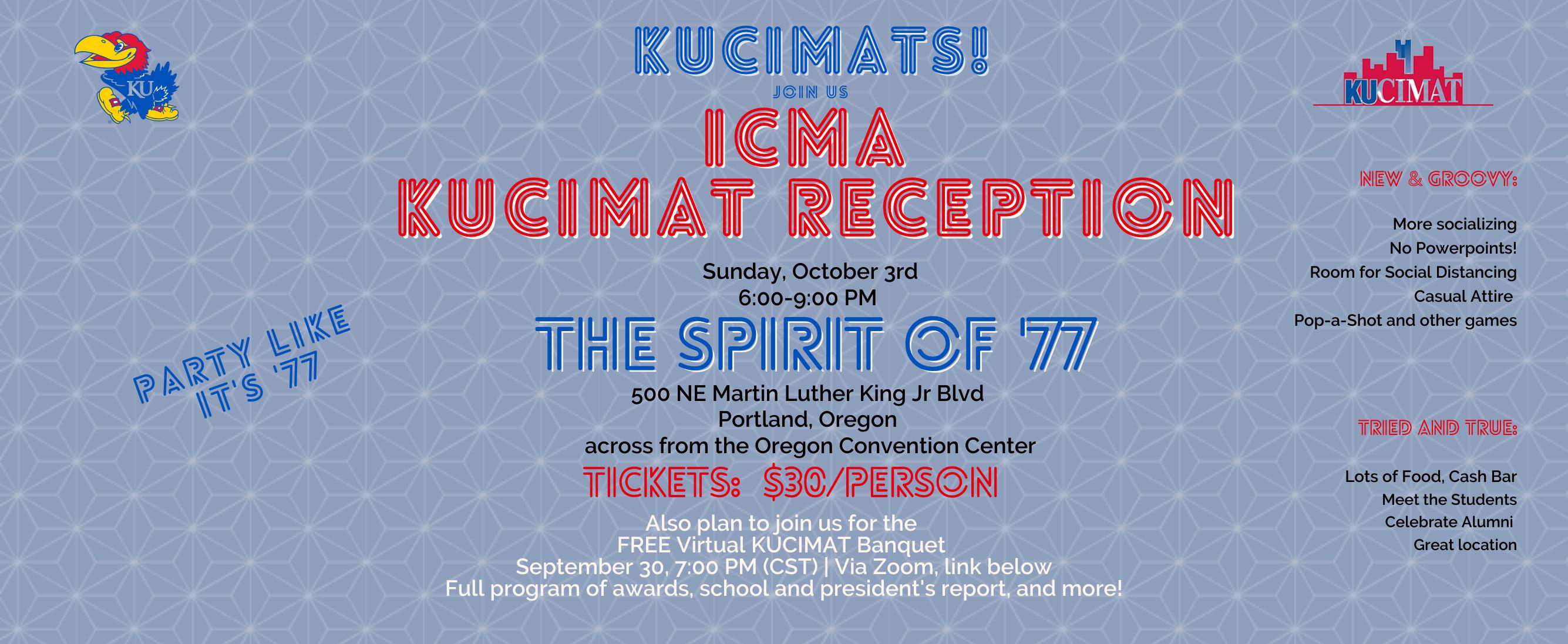 ICMA KUCIMAT Reception