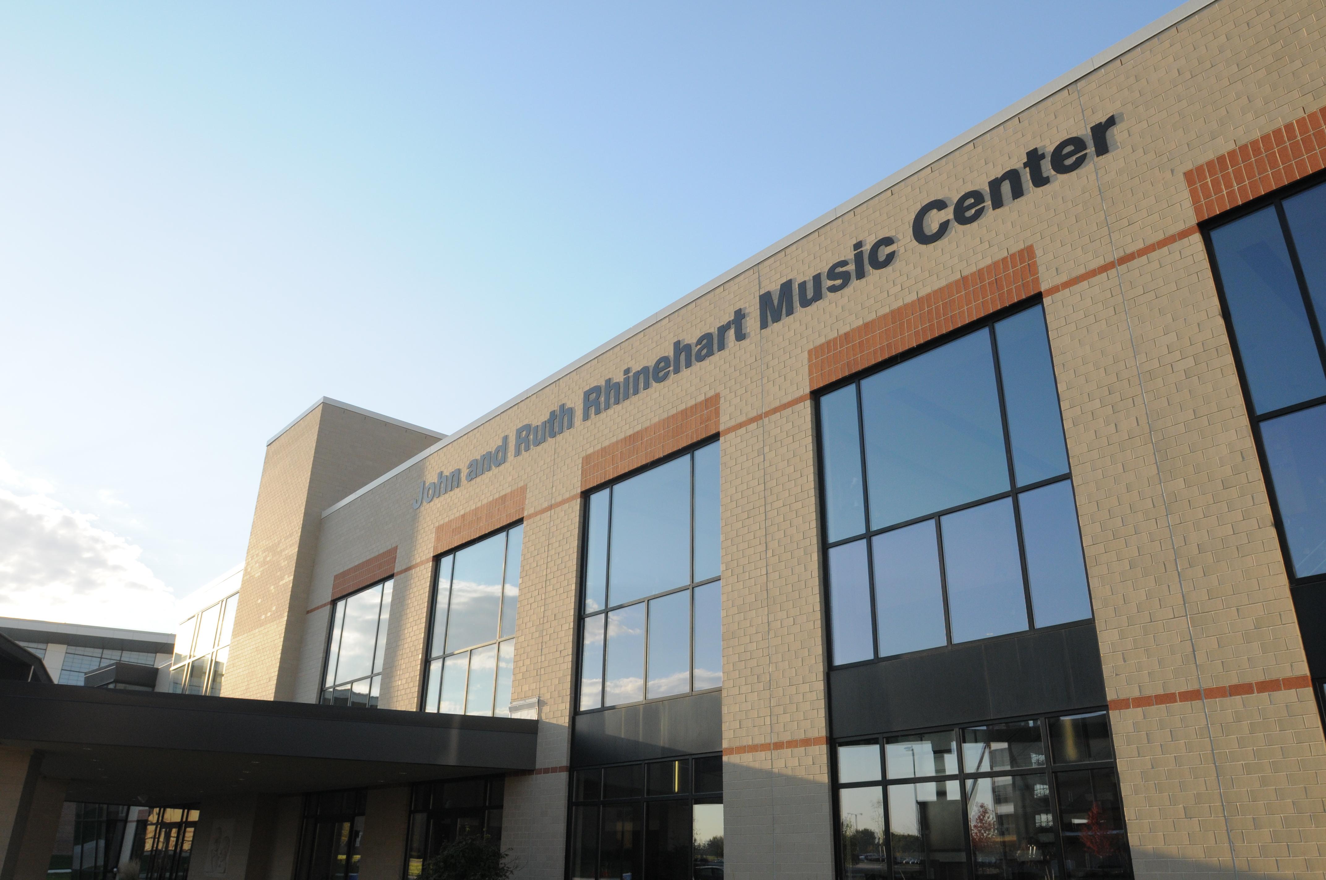 Rhinehart Music Center Rm TBD