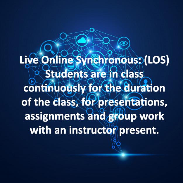 Live Online Synchronous: (LOS)